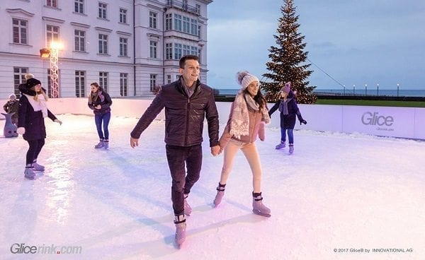 With Glice® Synthetic Ice Rinks the Winter Fun Goes on Year-Round