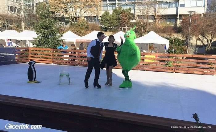 Glice® Wins Public Tender to Install Artificial Ice Rink in Schiltigheim, France