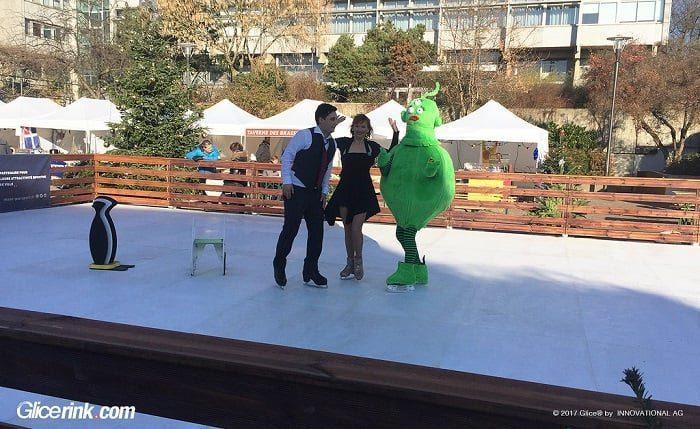Glice® gewinnt öffentliche Ausschreibung zur Installation einer künstlichen Eislaufbahn im französischen Schiltigheim