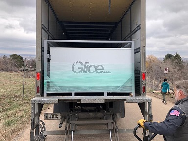 Shipping Glice Synthetic Ice Rinks all over the US