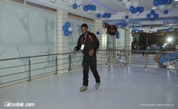 Glice® Synthetic Ice Rink Brings Skating Fun to India
