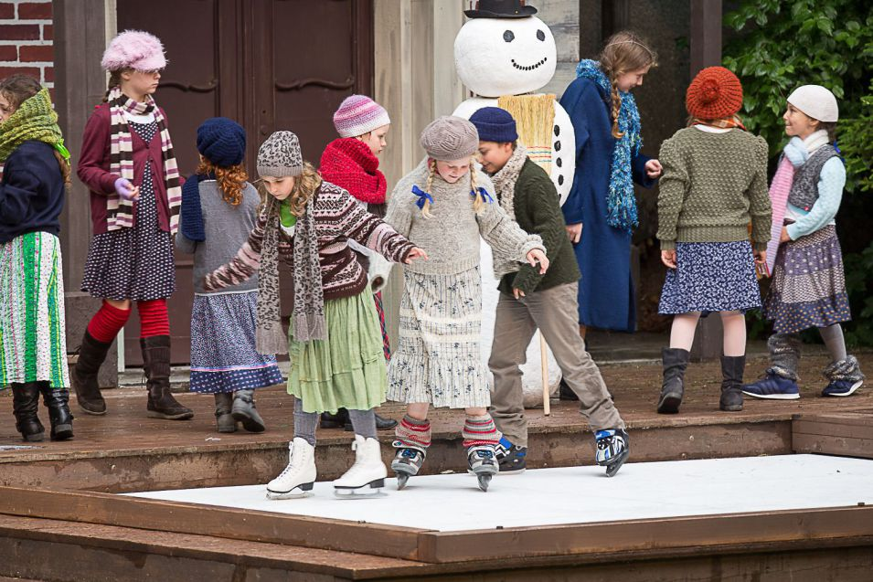 Glice® synthetic ice rink at Naturtheater Heidenheim in Germany