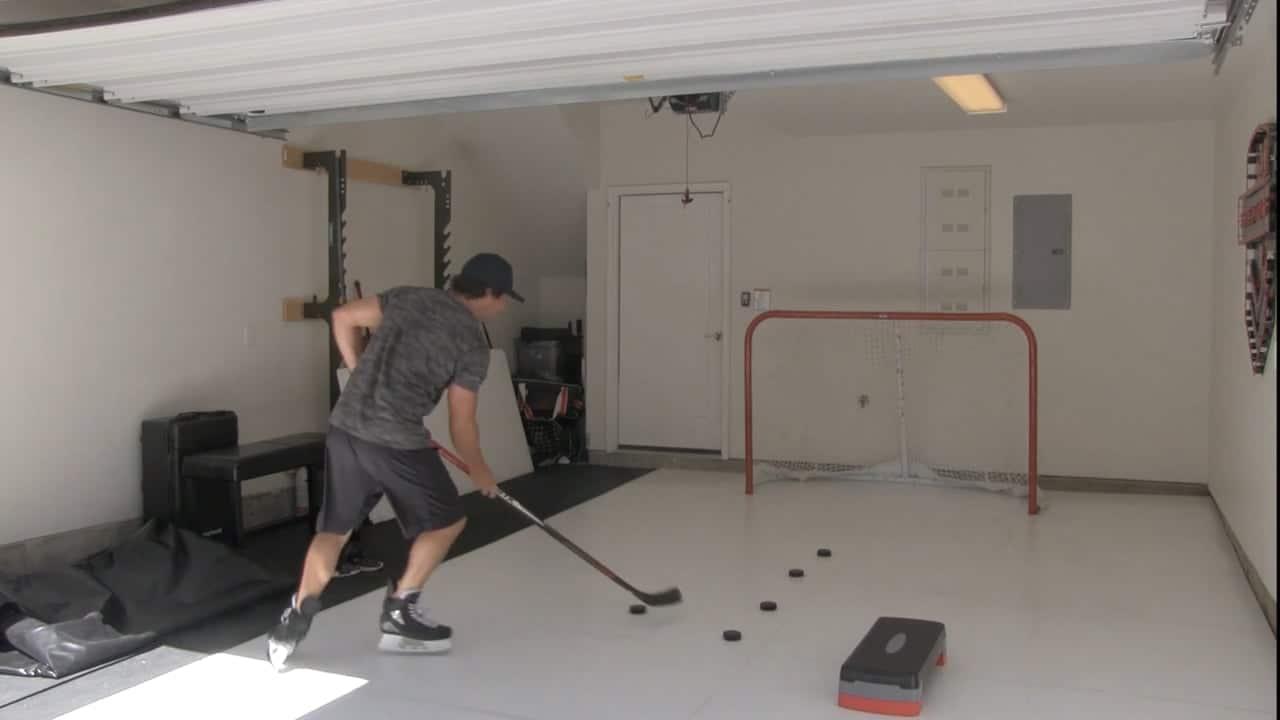 Glice Park N' Skate – synthetisches Eis für die Garage