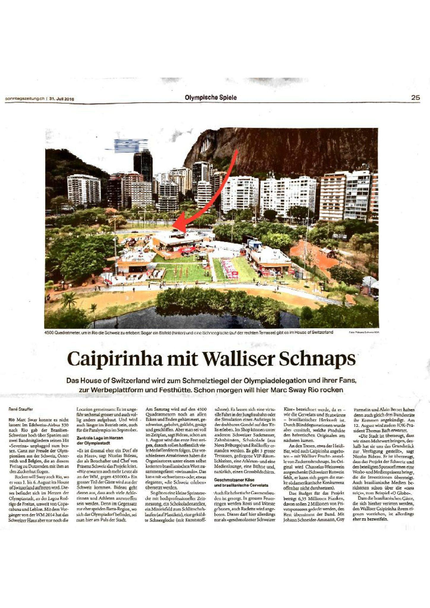 El hielo sintético Glice® presentado en el Sonntagszeitung media!