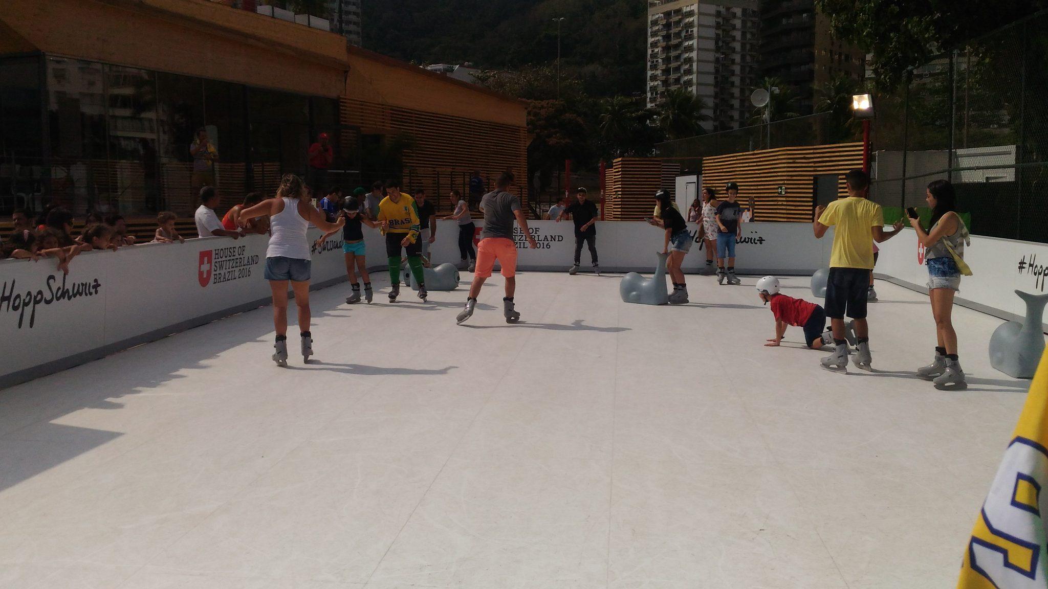 A pista de gelo sintético vem ao Brasil!