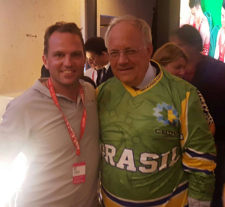 Glice® synthetic ice co-founder meets president of Switzerland in Brazil!