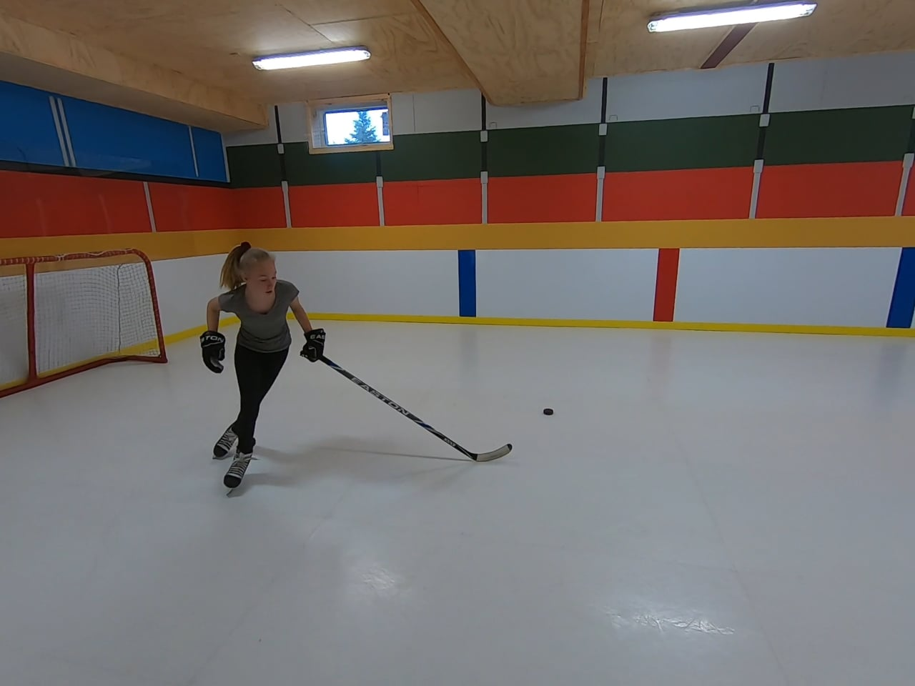 Glice Synthetic Ice Home Diaries – Epic Home Arena in Canada