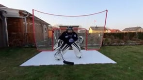Glice Synthetic Ice Home Diaries Czech Republic, Goalie Edition
