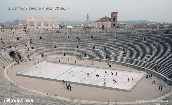 The Next Roman Games? A Glice® Synthetic Ice Rink Vision