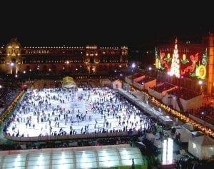 Il ghiaccio sintetico di Glice vince il bando per la pista di pattinaggio più grande del mondo!