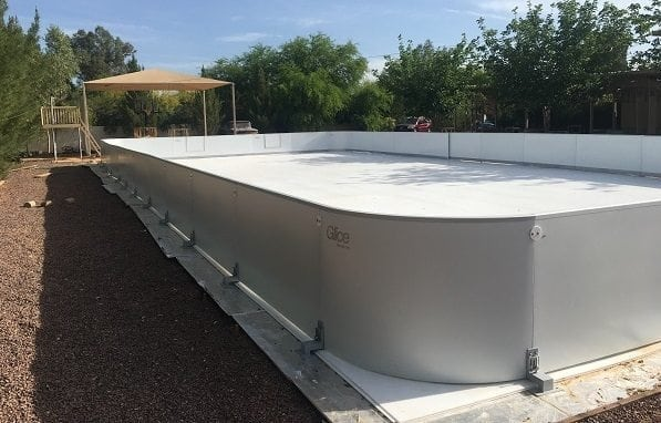 One of Arizona's Finest Neighborhoods Is the New Home of a Glice® Synthetic Ice Rink