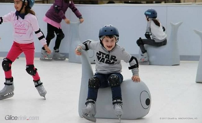 Ice Skating in the Desert Country Algeria: Glice® Installs First Synthetic Ice Rink in Algier