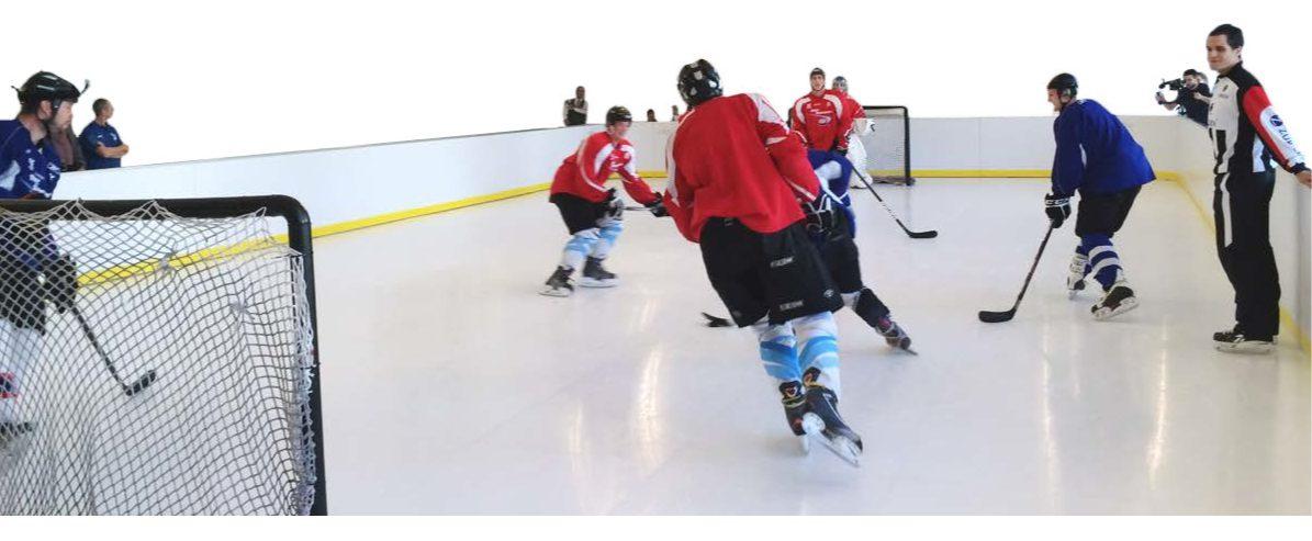 Le guide de l'acheteur de la patinoire synthétique – Doit être Lu lors de l'achat d'une surface de glace synthétique