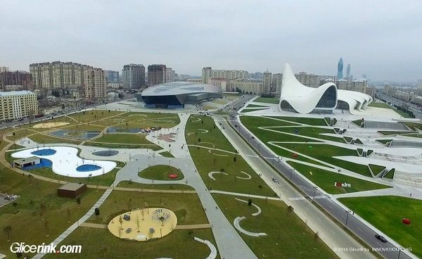 Glice synthetic ice Azerbaijan 1