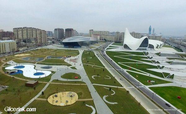 Glice synthetic ice Azerbaijan 1