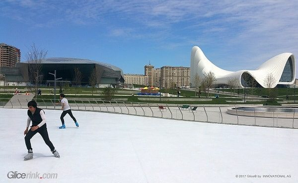 Glice synthetic ice Azerbaijan 2