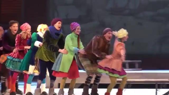 Glice® synthetische Eisbahn im Lettischen Nationaltheater