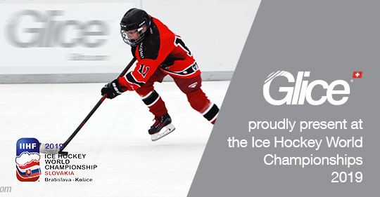 Glice synthetic ice rinks are at the IIHF Ice Hockey World Champion ship – Come skate!