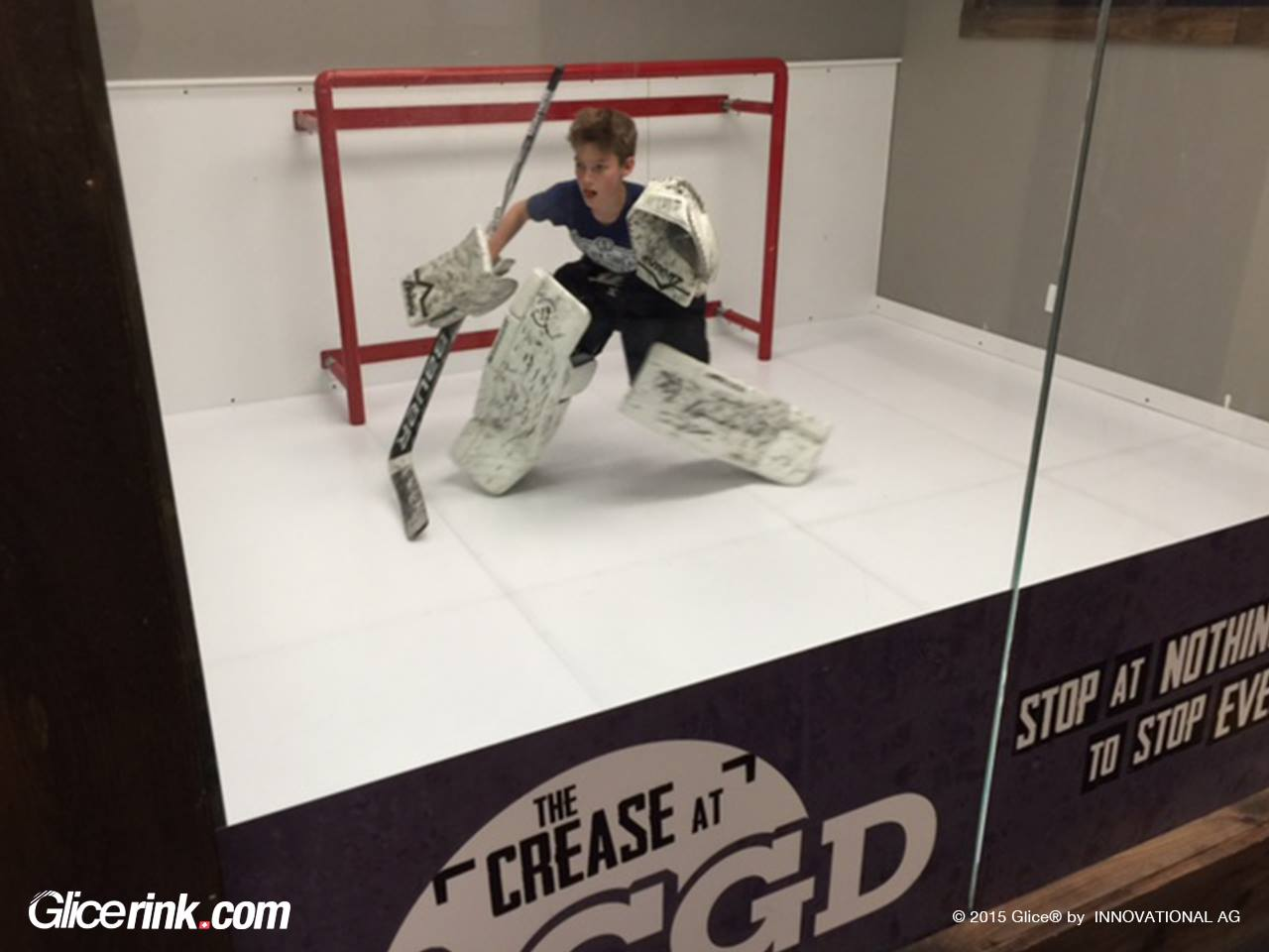 Glice synthetic ice
