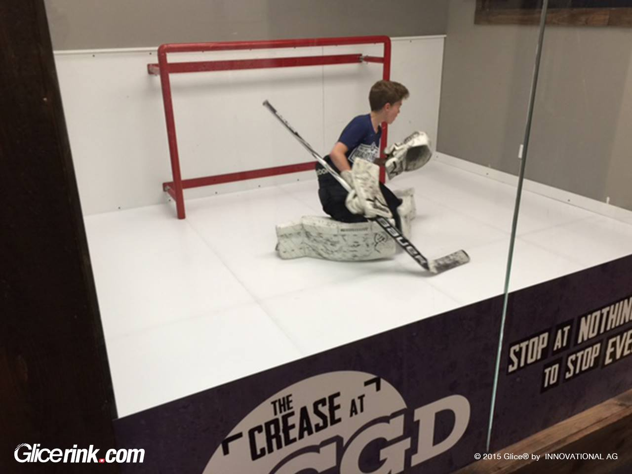 Glice synthetic ice rinks