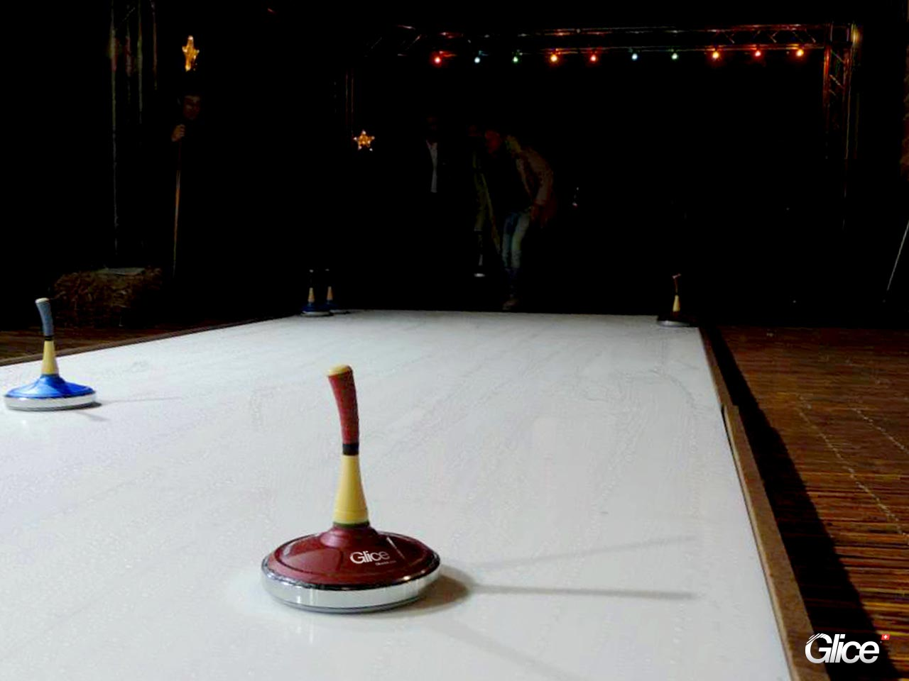 ice panels curling game