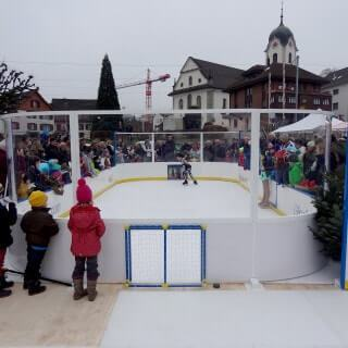 Glice mini arena outdoors