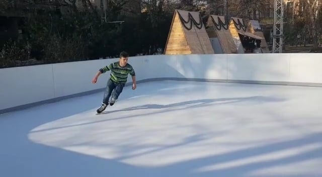 Gliding on Glice® Like on Ice: Testing an Artificial Ice Rink in Sarajevo