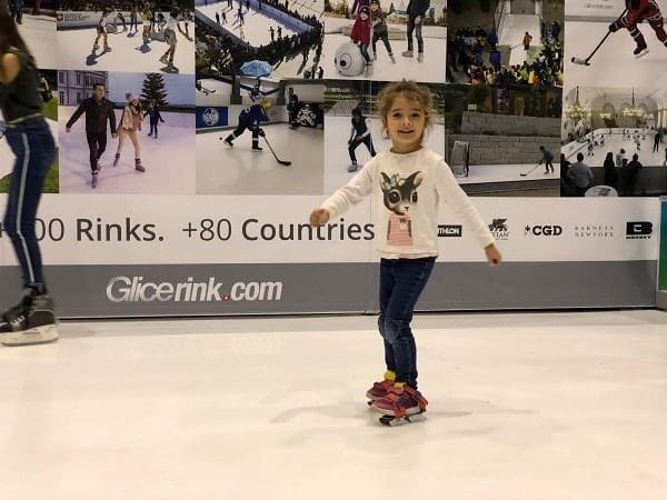 Great Reception of Glice® Artificial Ice Rink at Geneva Trade Show
