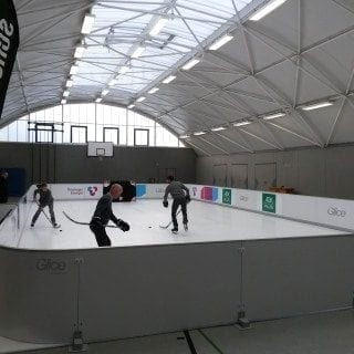 Glice artificial ice rink