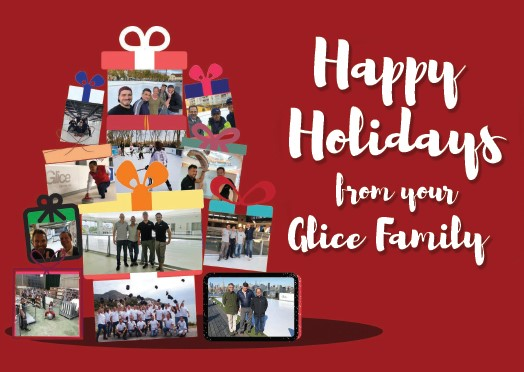 Happy Holidays and a BIG Thank You from Your Glice Team!!
