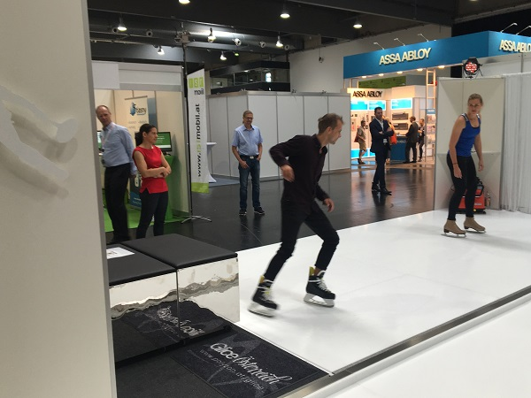 Eye Catching – Glice® Synthetic Ice at Tradeshow in Graz, Austria