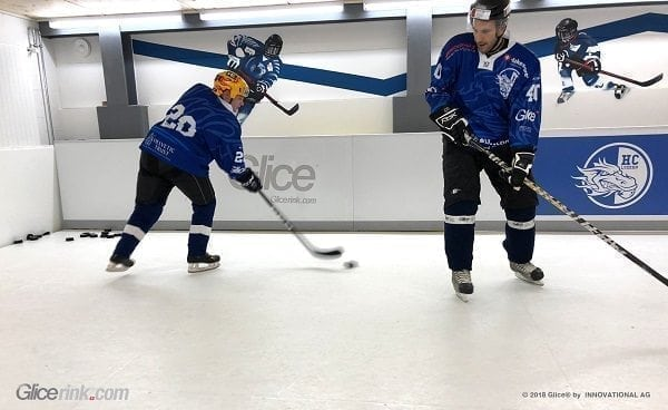 Hockey Club Lucerne Installs Glice® Synthetic Ice Rink in its Training Center