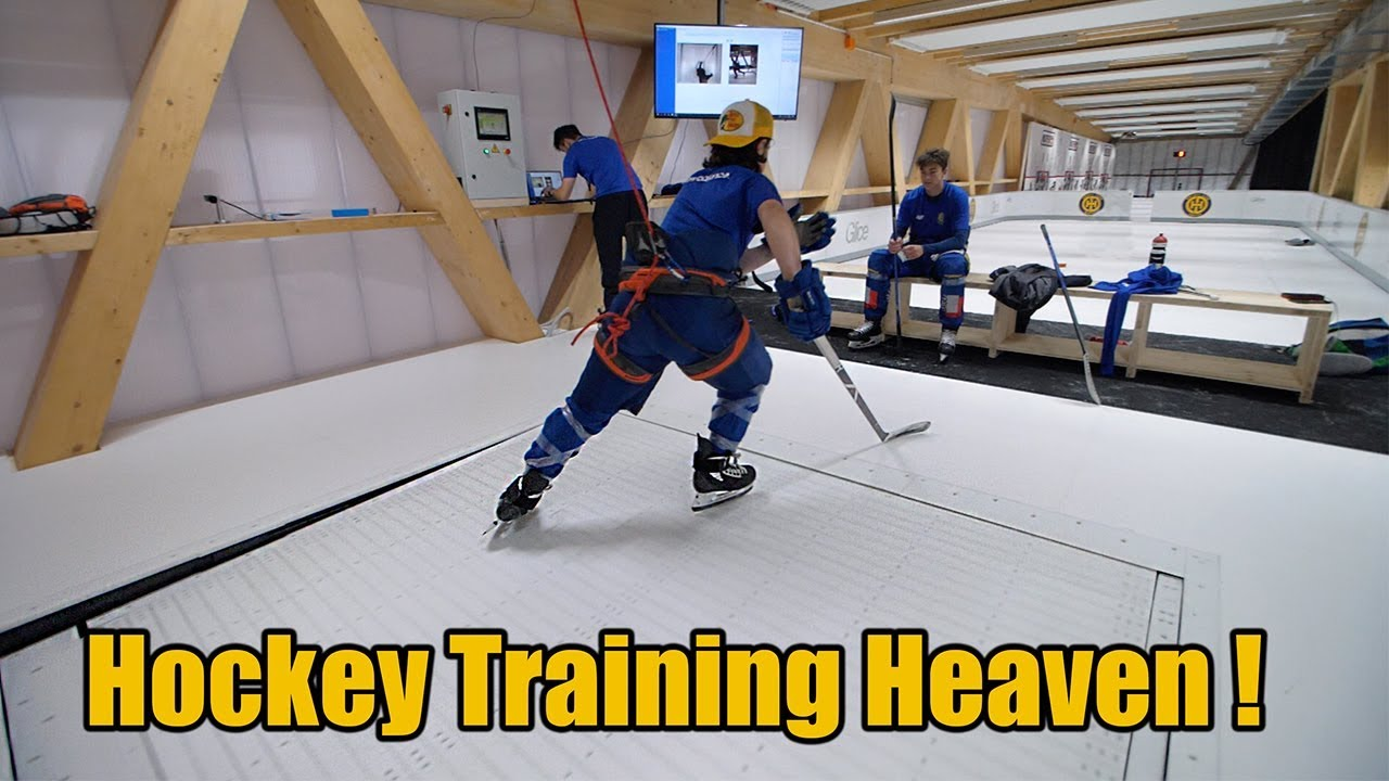 """Hockey Training Heaven"" – Hockey Tutorial's Verdict after Visiting Glice® Hockey Elite Center"