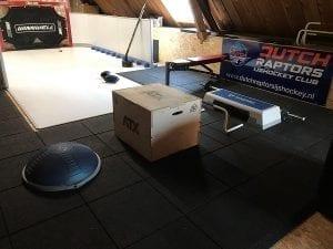 Eishockey auf dem Dachboden – synthetische Eisplatten von Glice für zu Hause