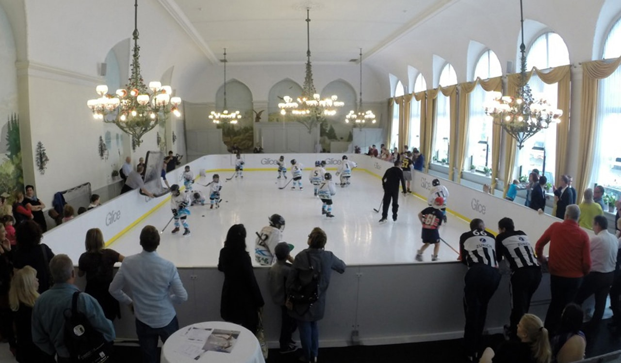 Hockey Glice synthetic ice rink
