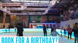 Ice Skating Down Under – Glice® Synthetic Ice Rink at Power Kart Raceway in Canberra