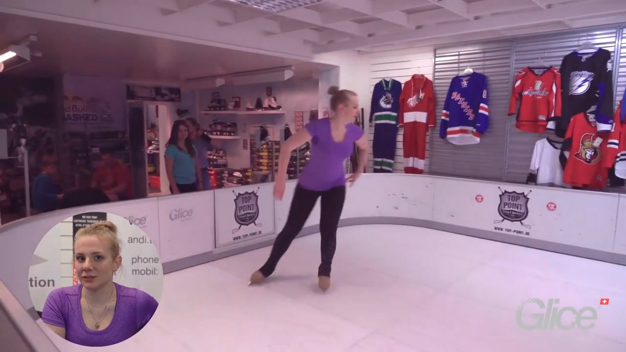 Ice Skating Pro Amelie Buchner Wants to Coach Kids on Glice® Artificial Ice during Summer