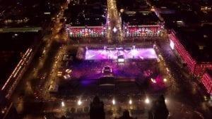 Inauguration de la plus grande patinoire écologique au monde : l'Eco-Rink de Glice, à Mexico City