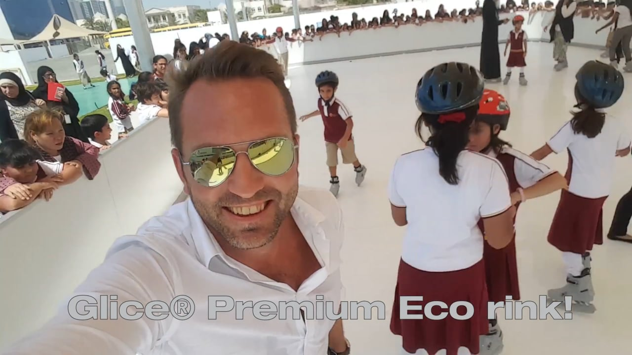 Inventive Gym Class: Glice® Artificial Ice Rink at Next Generation School in Dubai
