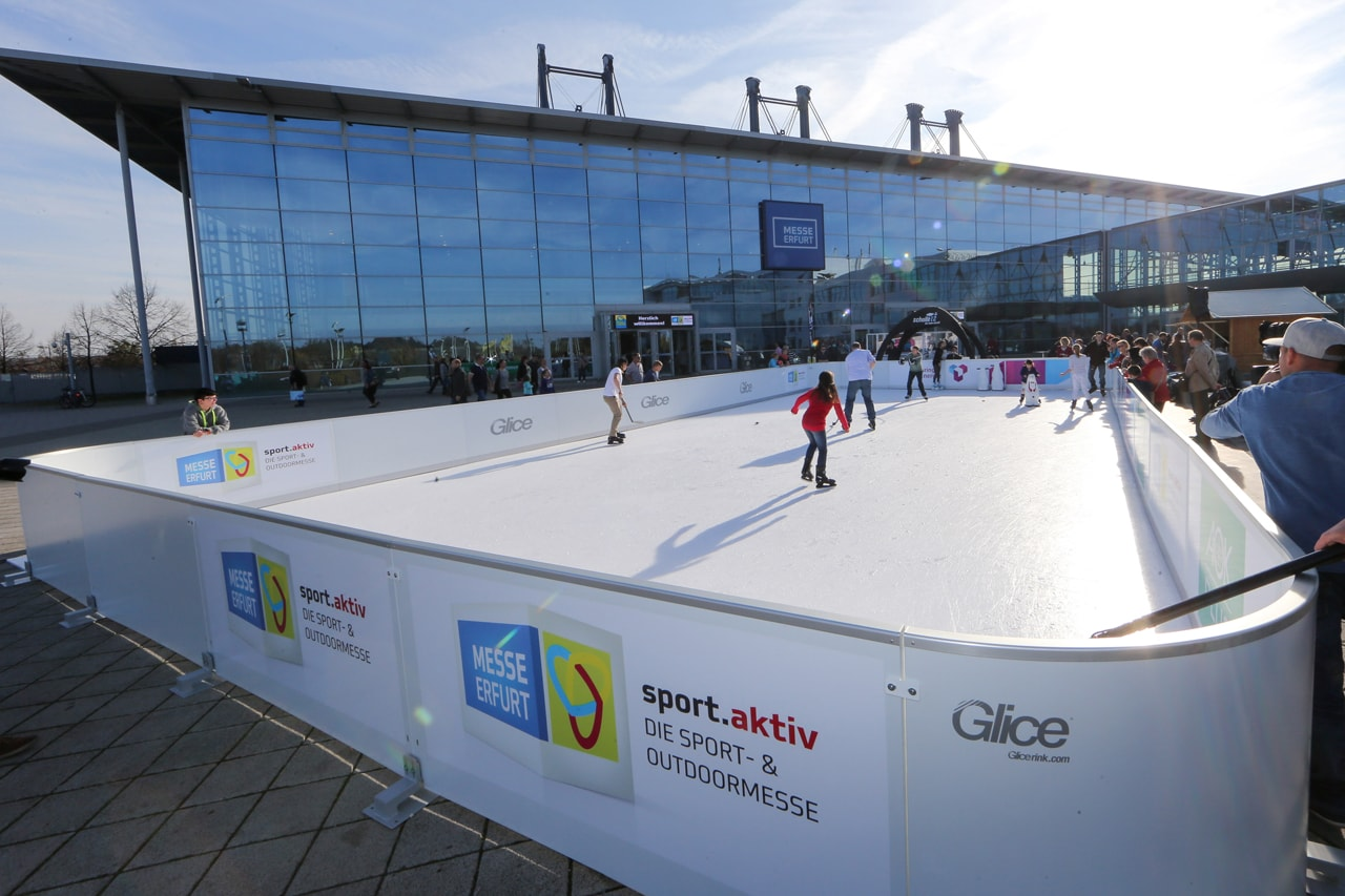 synthetic ice rink - Leisure