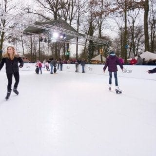 Glice plastic ice rink
