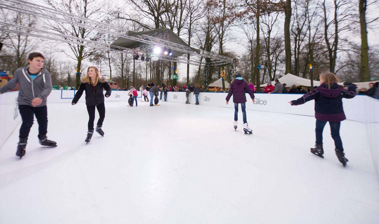Synthetic Ice Christmas Rink - GliceRink