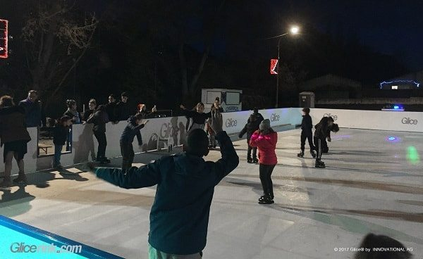 Little French Town Saint-Affrique extends its Glice® Plastic Ice Rink