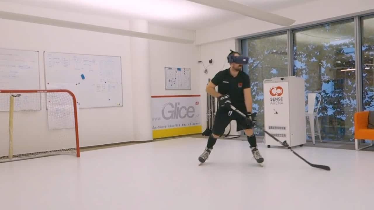 Maximierte Ice Time: Eishockeytraining auf Glice® synthetischen Eisfeldern & Pads
