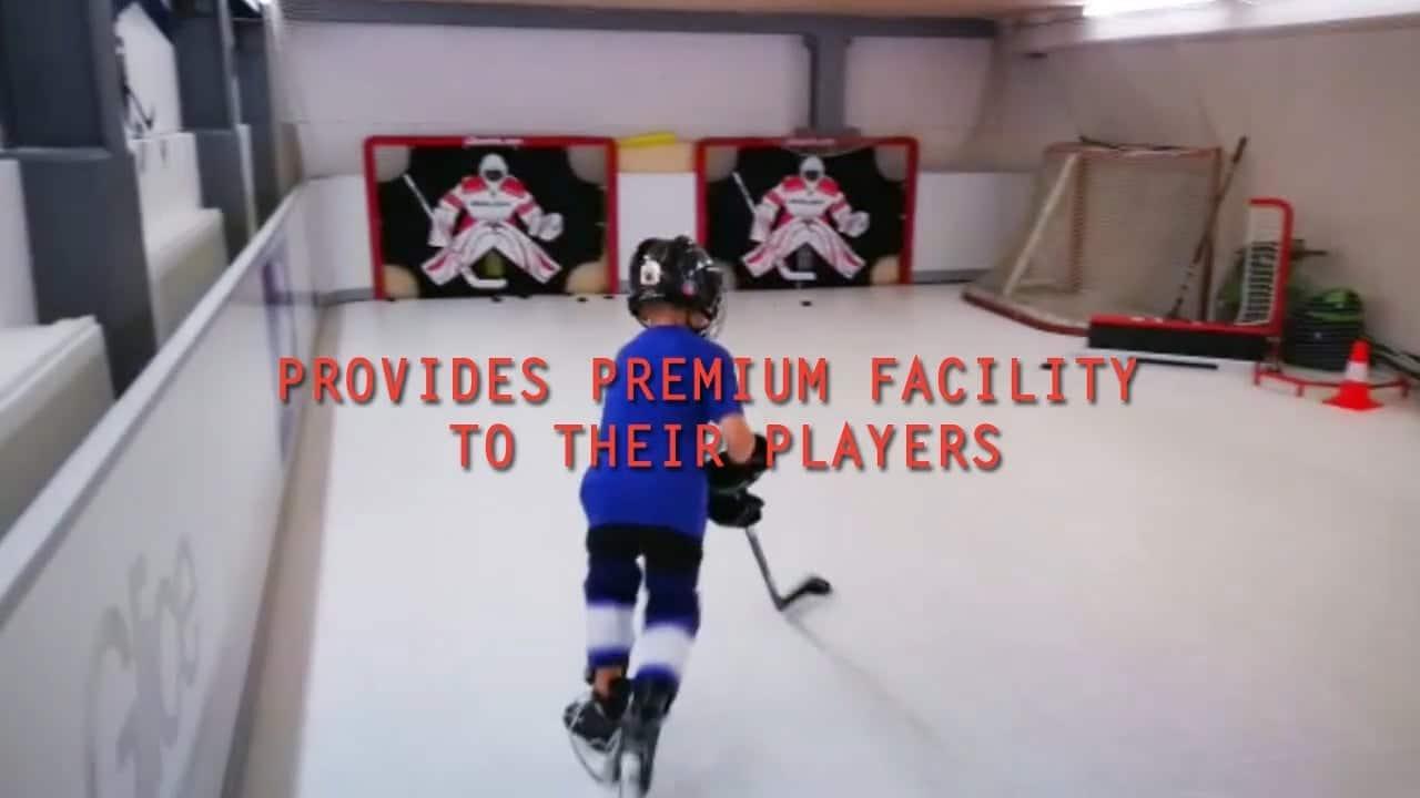Mehr (Gl)ice Time: Premium Trainingseinrichtung des HC Luzern mit Glice® synthetischem Eisfeld