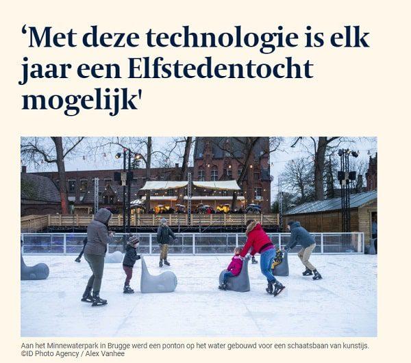 Met deze technologie is elk jaar een elfstedentocht mogelijk