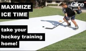 Meer IJs trainingstijd, hogere prestaties – Glice Pad Synthetische ijsoplossing