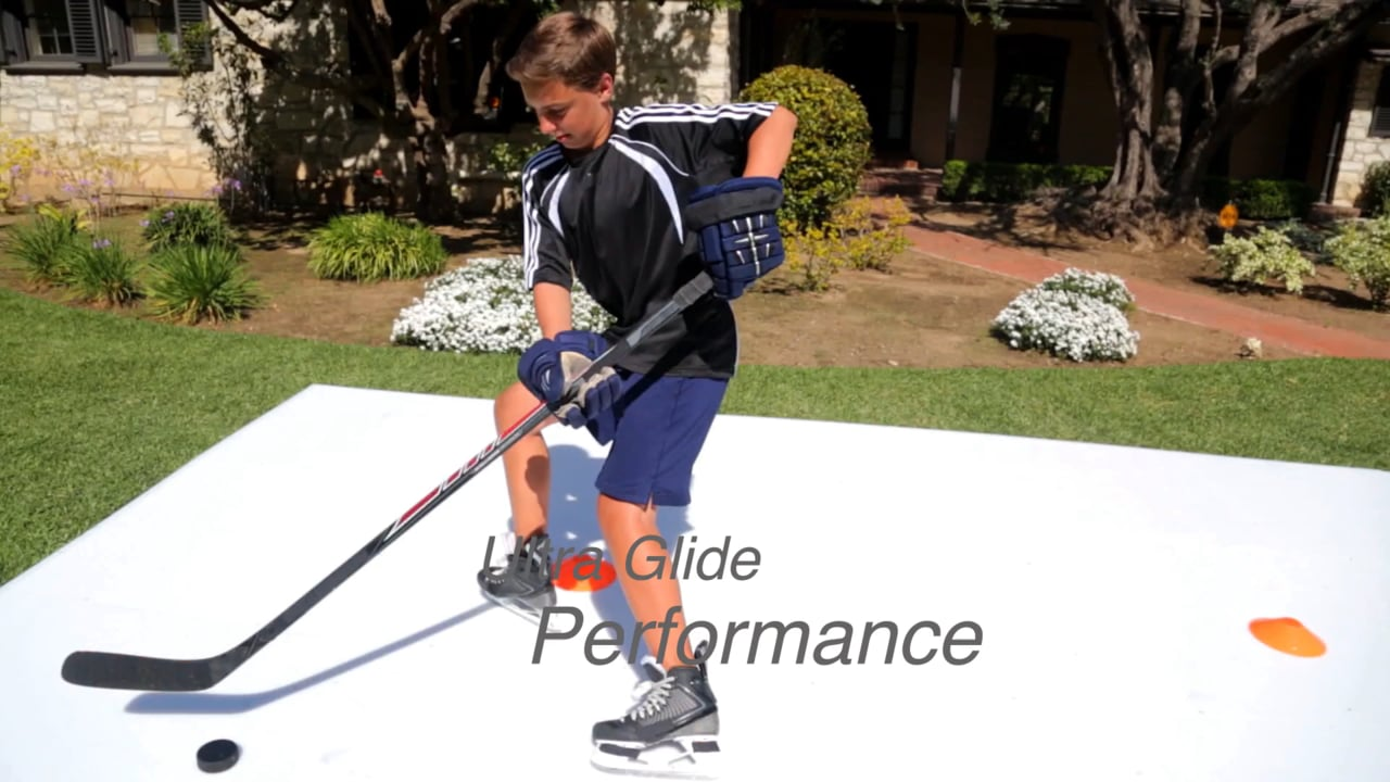 More Ice Time, Higher Performance – Glice® Synthetic Ice Home Pads
