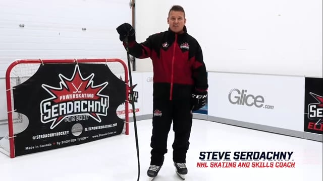 NHL Skating and Skills Coach Steve Serdachny Uses Glice at His Center of Excellence