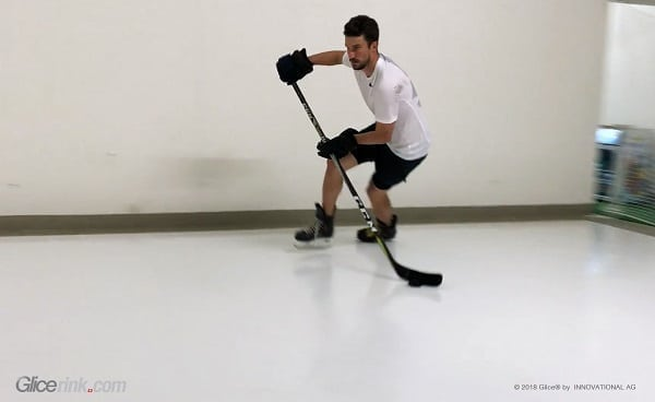 """It's great to skate on Glice®!"" – NHL Superstar Roman Josi Uses Glice® Synthetic Ice Rink for His Training"